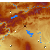 Nearby Forecast Locations - Ergani - Χάρτης