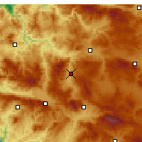 Nearby Forecast Locations - Emet - Χάρτης