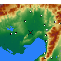 Nearby Forecast Locations - Ceyhan - Χάρτης