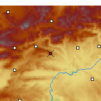 Nearby Forecast Locations - Besni - Χάρτης