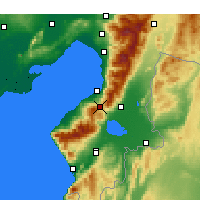 Nearby Forecast Locations - Belen - Χάρτης