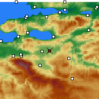 Nearby Forecast Locations - Γενισεχίρ - Χάρτης