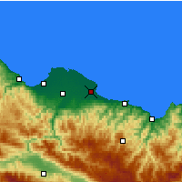Nearby Forecast Locations - Terme - Χάρτης