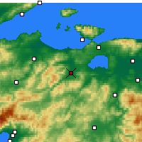 Nearby Forecast Locations - Gönen - ������