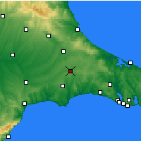 Nearby Forecast Locations - Τσερκέζκιοϊ - Χάρτης