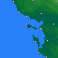 Nearby Forecast Locations - Ars-en-Ré - Χάρτης