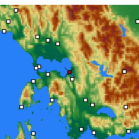 Nearby Forecast Locations - Μπούκκα - Χάρτης