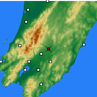 Nearby Forecast Locations - Masterton - Χάρτης