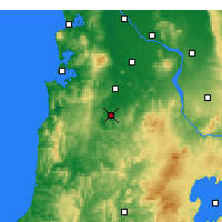 Nearby Forecast Locations - Te Kuiti - Χάρτης