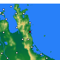 Nearby Forecast Locations - Whangamata - Χάρτης