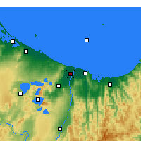 Nearby Forecast Locations - Edgecumbe - Χάρτης