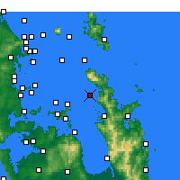 Nearby Forecast Locations - Motukawao Island - ������