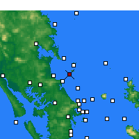Nearby Forecast Locations - Sail Rock - Χάρτης