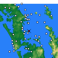 Nearby Forecast Locations - Tiritiri Matangi Island - Χάρτης