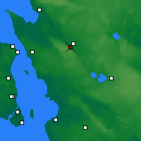 Nearby Forecast Locations - Ljungbyhed - Χάρτης