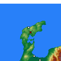 Nearby Forecast Locations - Wajima - Χάρτης