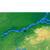 Nearby Forecast Locations - Ciudad Guayana - Χάρτης