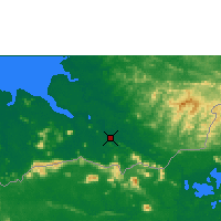 Nearby Forecast Locations - Sri Aman - Χάρτης
