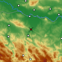 Nearby Forecast Locations - Laktaši - ������