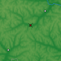 Nearby Forecast Locations - Alexeyevka - Χάρτης