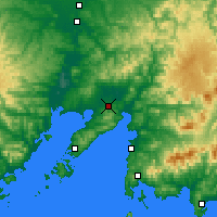 Nearby Forecast Locations - Artyom - Χάρτης