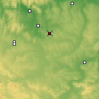 Nearby Forecast Locations - Borodino - Χάρτης