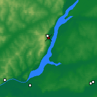 Nearby Forecast Locations - Khvalynsk - Χάρτης