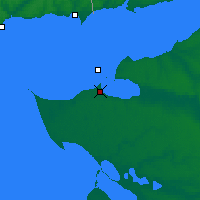 Nearby Forecast Locations - Yeysk - Χάρτης