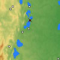 Nearby Forecast Locations - Kasli - Χάρτης