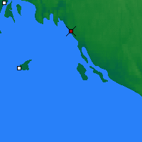 Nearby Forecast Locations - Pitkyaranta - Χάρτης