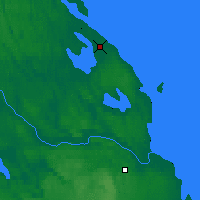 Nearby Forecast Locations - Priozersk - Χάρτης