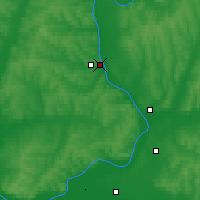 Nearby Forecast Locations - Sarapul - Χάρτης