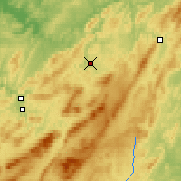 Nearby Forecast Locations - Satka - Χάρτης