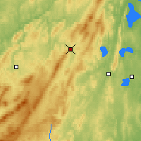 Nearby Forecast Locations - Zlatoust - Χάρτης