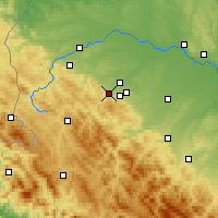 Nearby Forecast Locations - Boryslav - Χάρτης