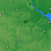Nearby Forecast Locations - Korsun-Shevchenkivskyi - Χάρτης