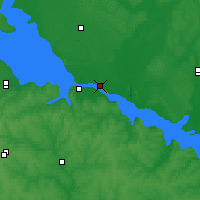 Nearby Forecast Locations - Kremenchuk - Χάρτης