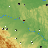 Nearby Forecast Locations - Novyi Rozdil - Χάρτης