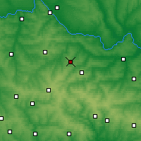 Nearby Forecast Locations - Stakhanov - Χάρτης