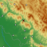 Nearby Forecast Locations - Svaliava - Χάρτης