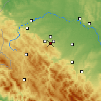 Nearby Forecast Locations - Truskavets - Χάρτης