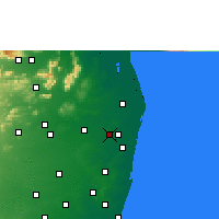 Nearby Forecast Locations - Avadi - Χάρτης