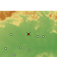 Nearby Forecast Locations - Bilaspur - Χάρτης