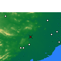 Nearby Forecast Locations - Cuttack - Χάρτης