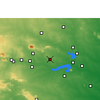 Nearby Forecast Locations - Dhanbad - Χάρτης