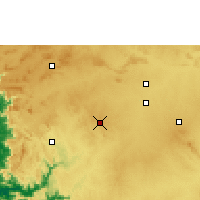 Nearby Forecast Locations - Hubli - Χάρτης