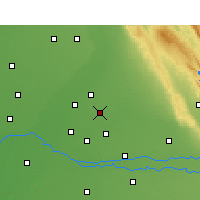 Nearby Forecast Locations - Jalandhar - Χάρτης