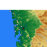 Nearby Forecast Locations - Kalyan-Dombivali - Χάρτης