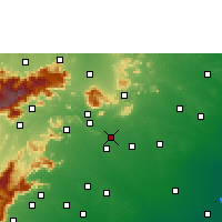 Nearby Forecast Locations - Madurai - Χάρτης