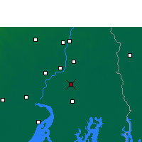 Nearby Forecast Locations - Rajpur Sonarpur - Χάρτης